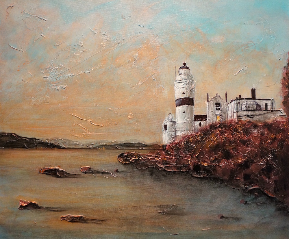 Cloche Light House print by kevin hunter