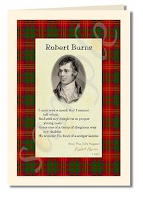robert burns cards