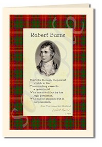 robert burns extract from the henpecked husband cards